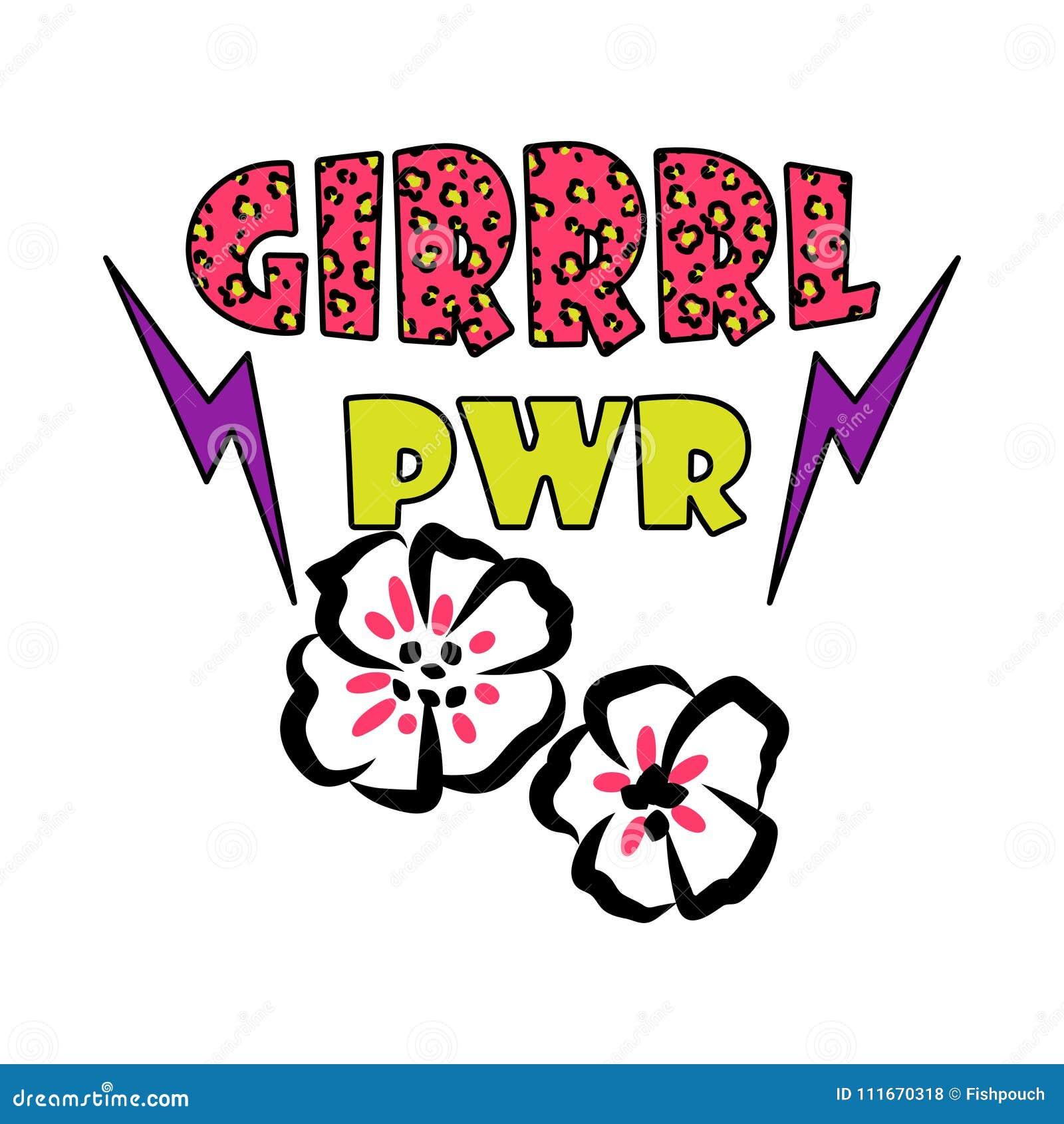 Girl Power Clip Art