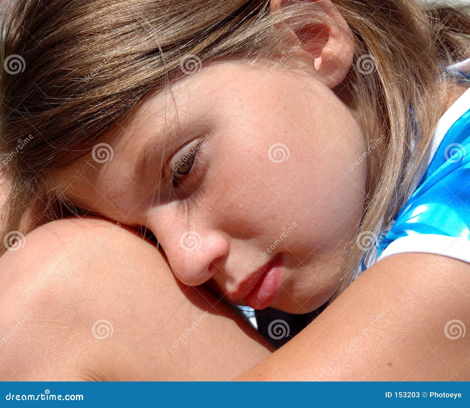 Girl resting 2