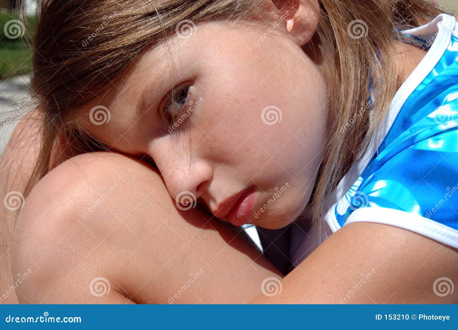 Girl resting 3