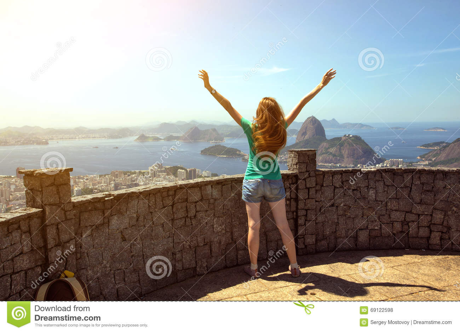 Girl at the Rio de Janeiro