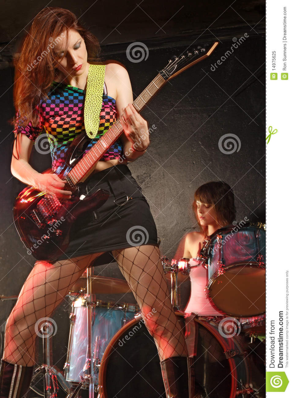 from Flynn sexy girl rock band