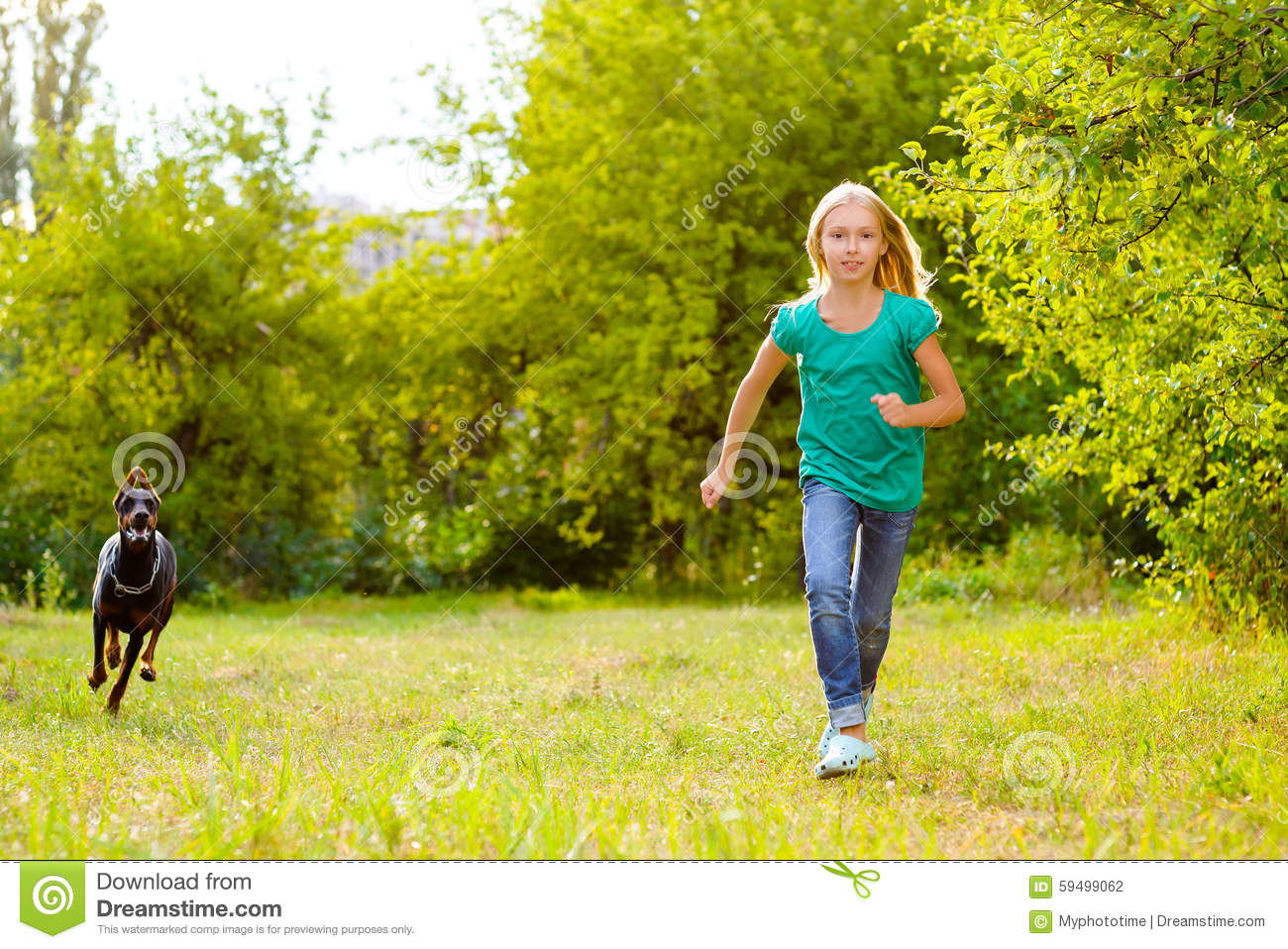 Two kids running away from home