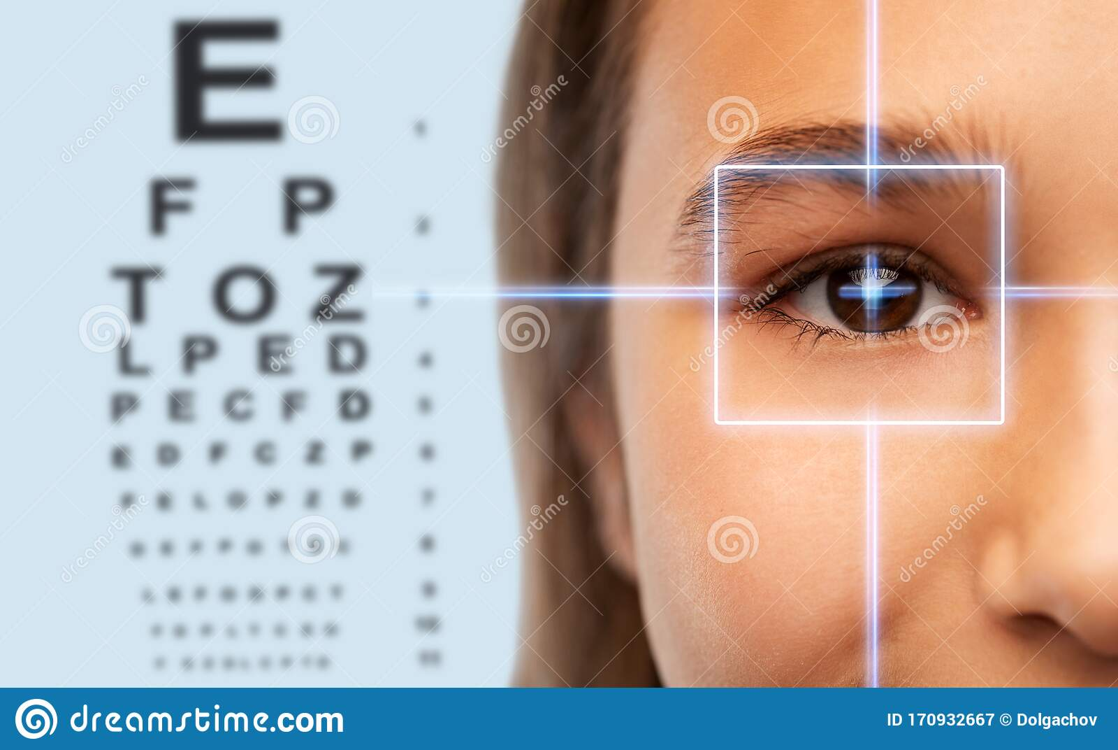 test ocular în dace puteți restabili vederea cu exerciții