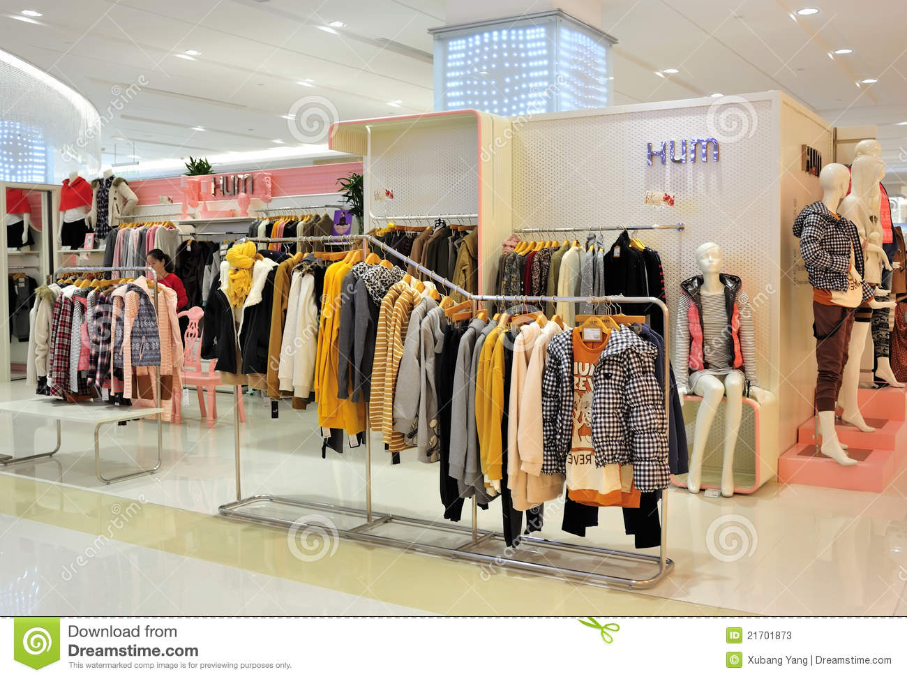 Girl's Fashion Clothing Store Editorial Stock Photo - Image: 21701873