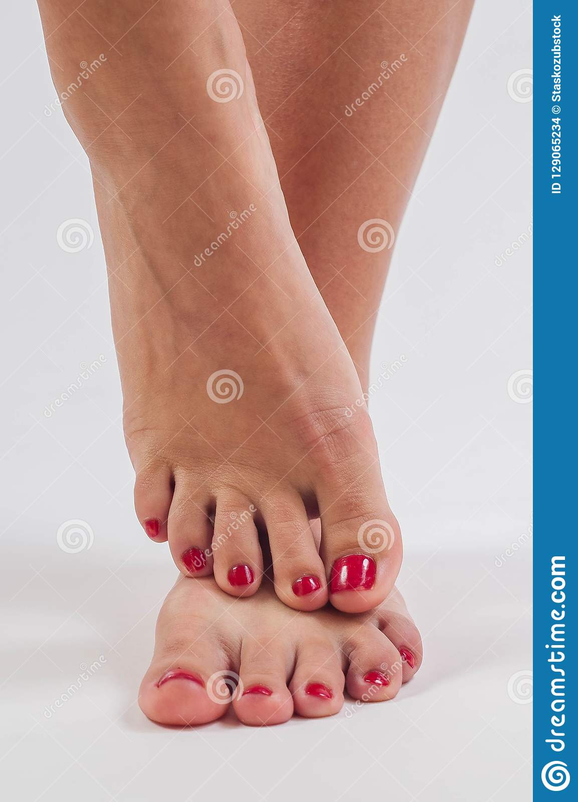 girl pretty toes and feet stock photo image of cute 129065234