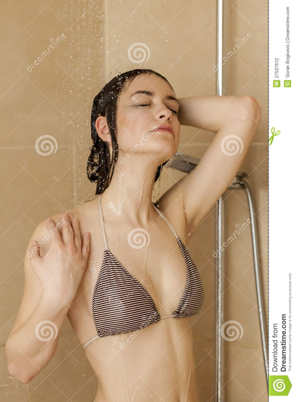 girl in shower porn
