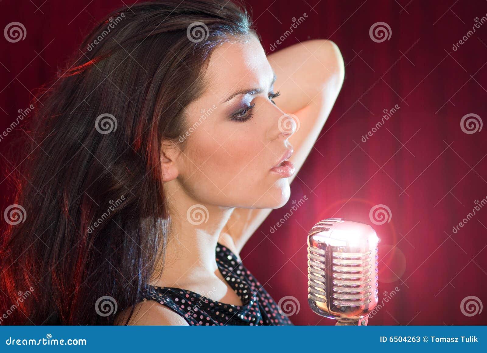 singing the girl retro - photo #4