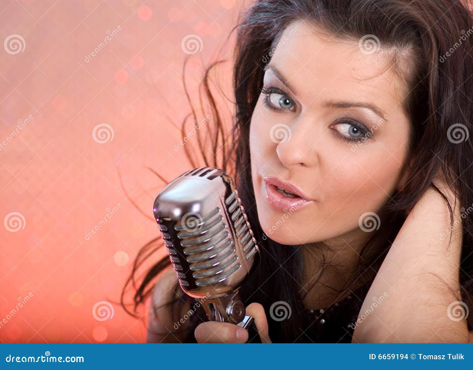 singing the girl retro - photo #10