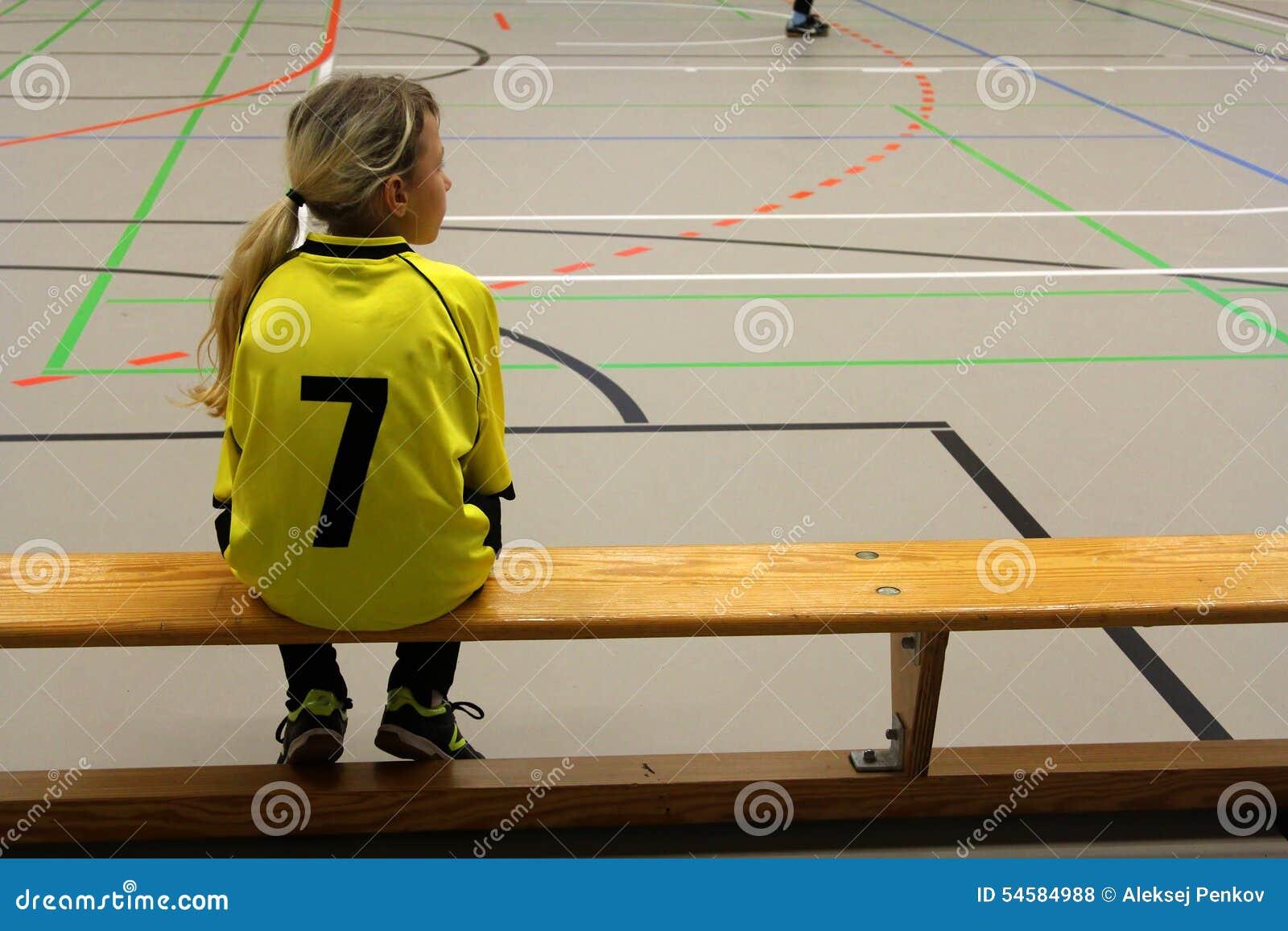 Girl Soccer Player Stock Photo Image 54584988