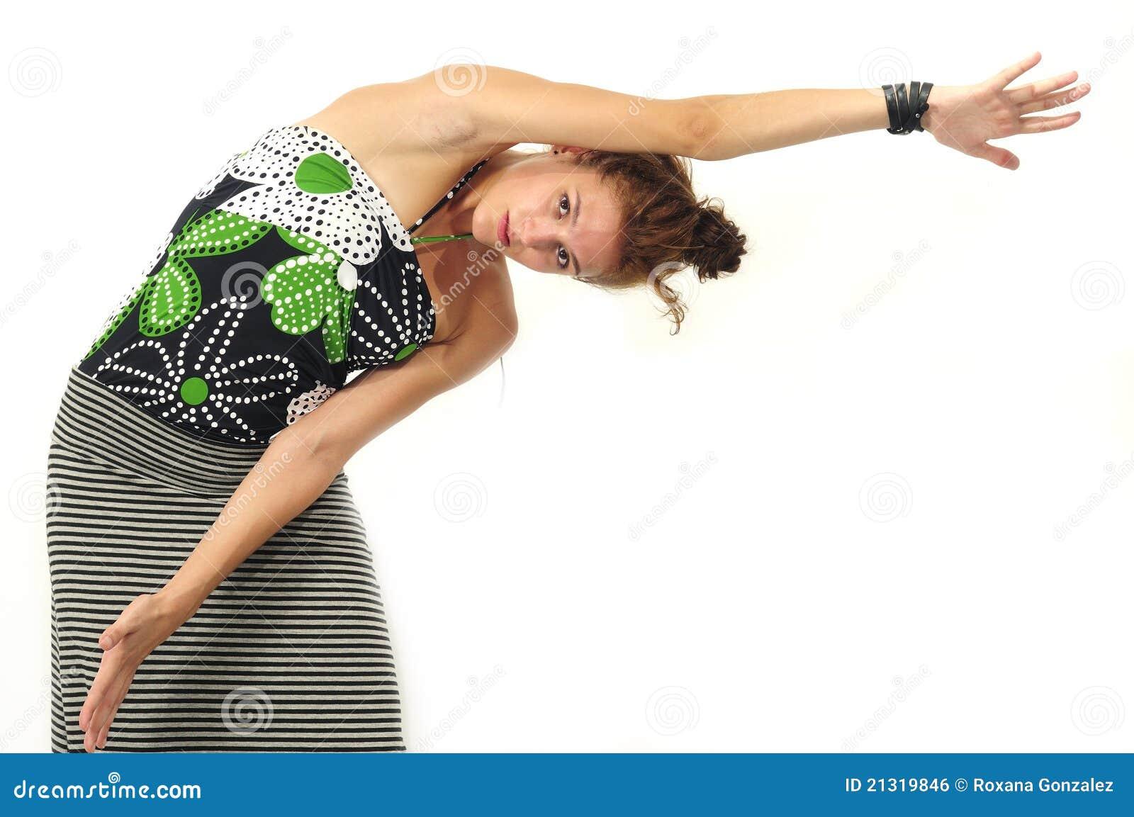 Girl stretching Nude Photos 52