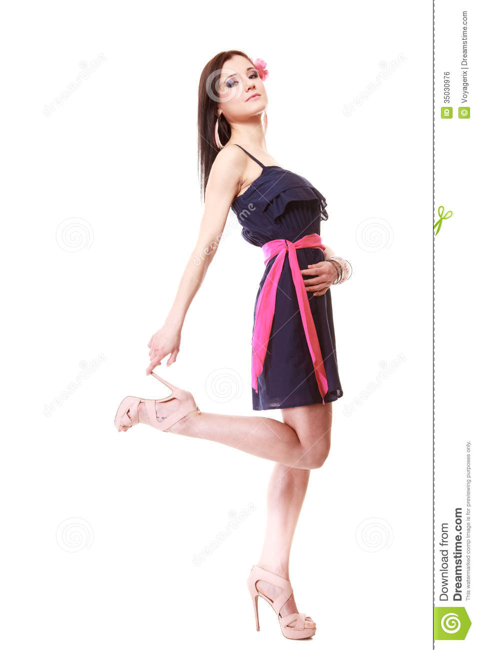 More Similar Stock Images Of Fashion Model Posing In The