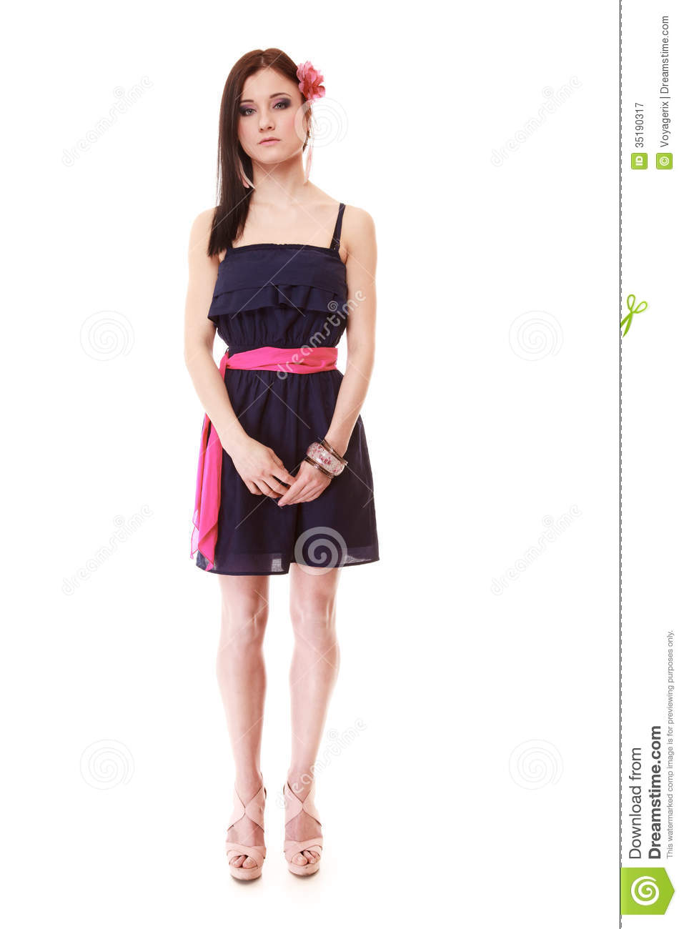 Girl in summer style fashion photo isolated royalty free stock photography image 35190317 Fashion style girl pic