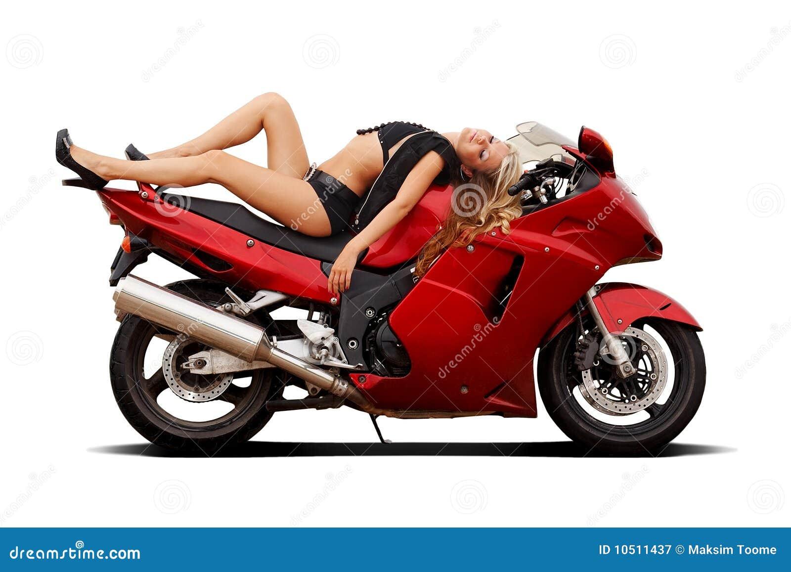 Girl on superbike