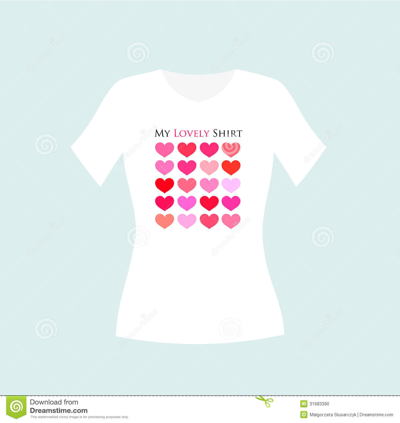 Design t shirt girl - Design Girl Illustration Shirt T