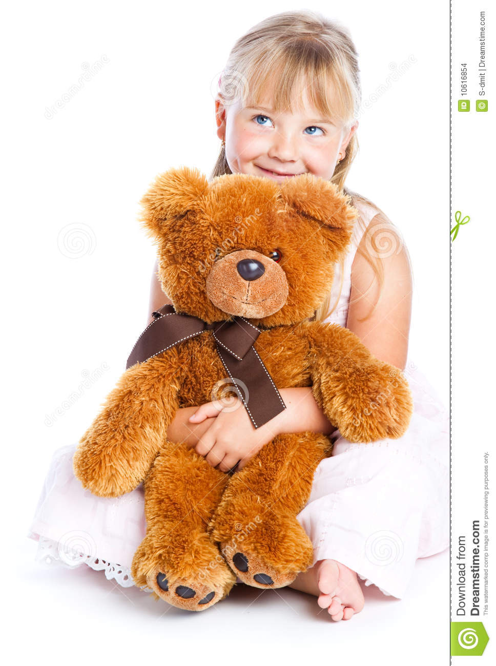 girl playing with teddy bear porn