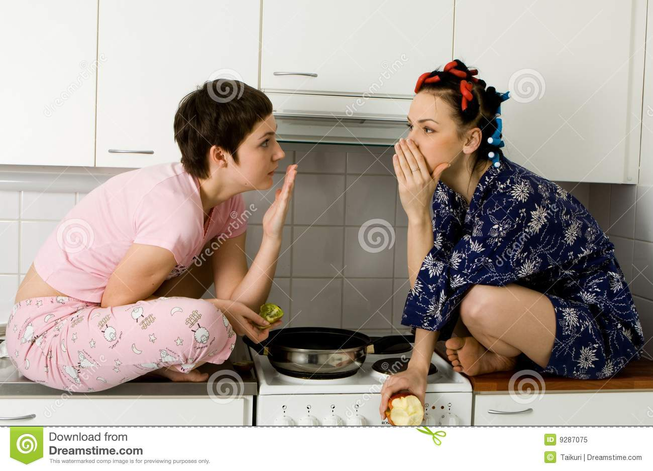 Girl Telling A Secret To Another - Gossip