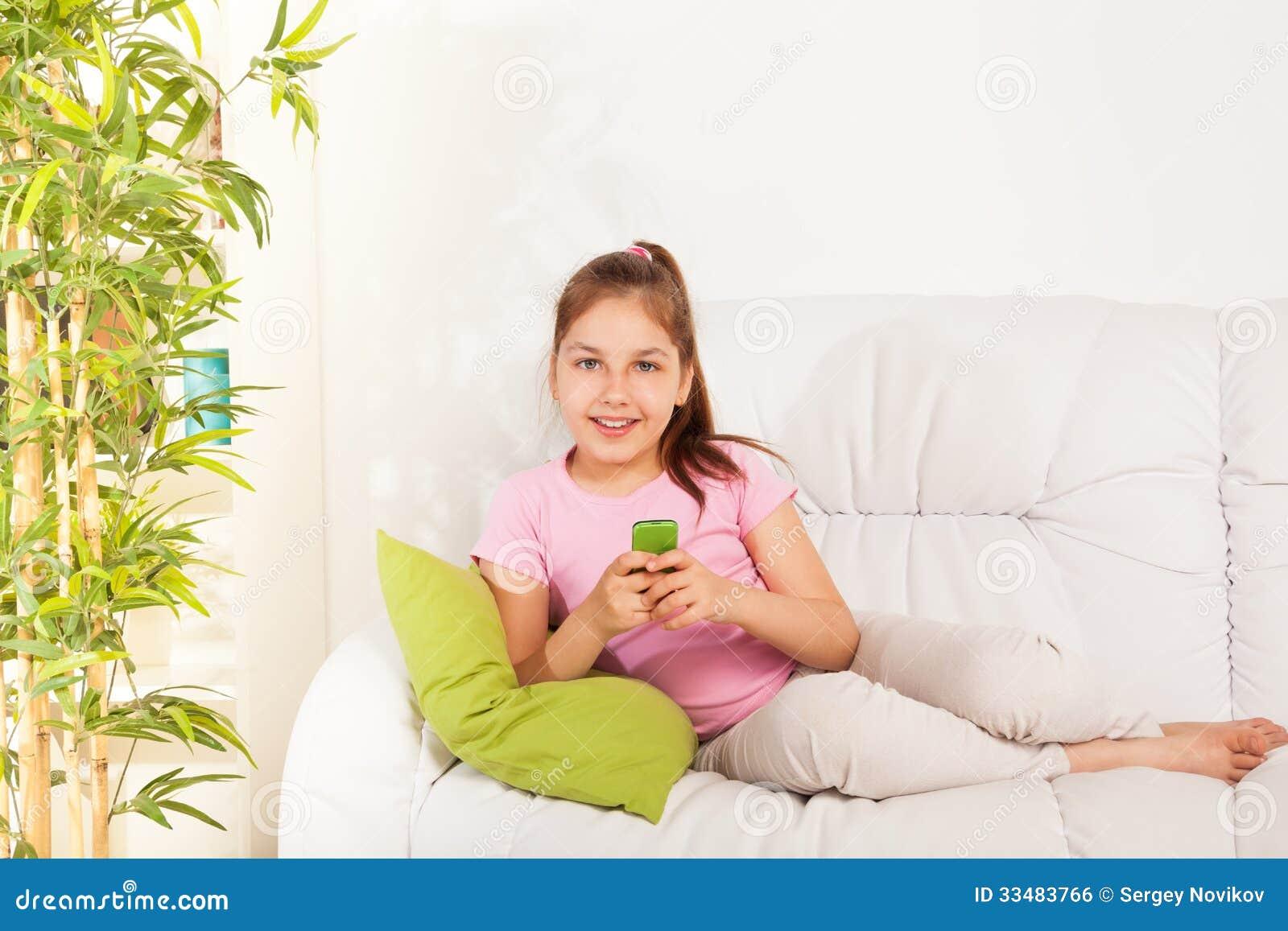 Girl Texting Royalty Free Stock Image Image 33483766
