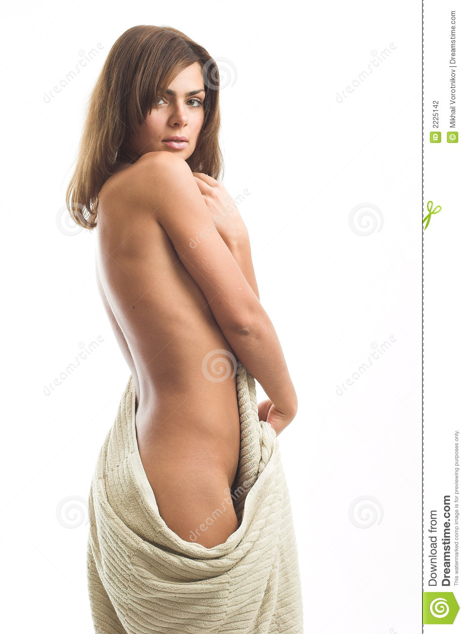 Girl With Towel Stock Photo Image Of Drape, Beautiful - 2225142-8182