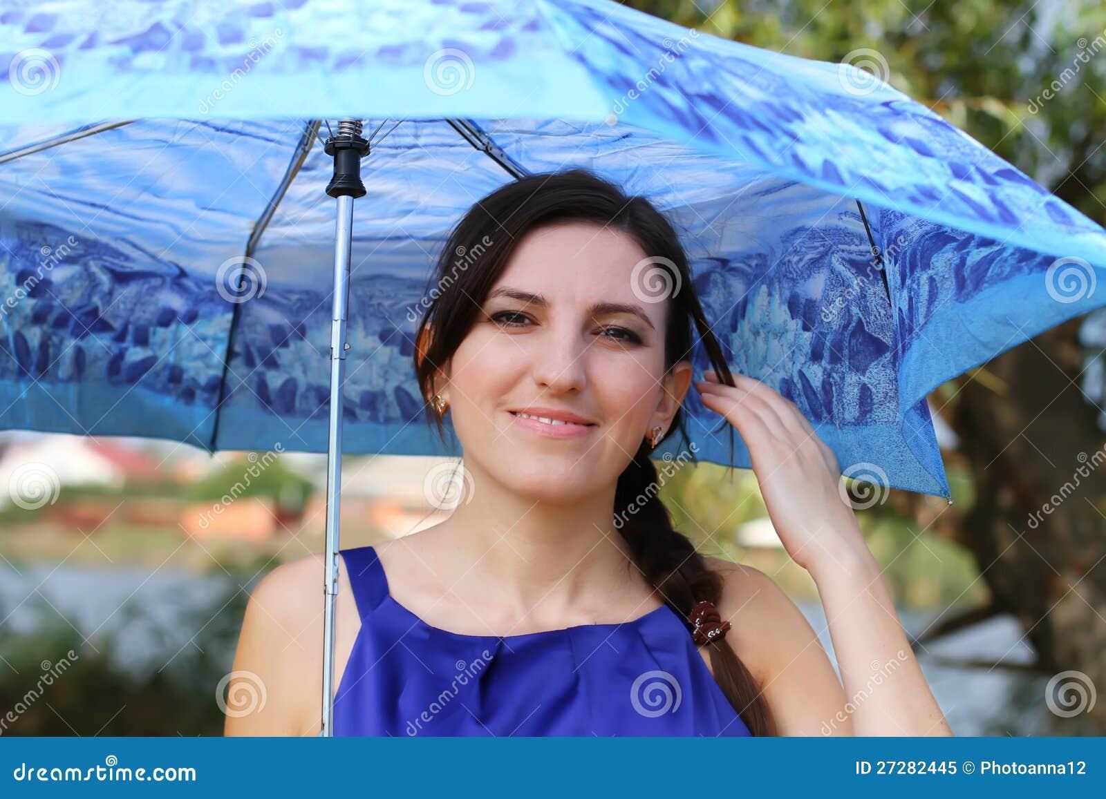 Girl With Umbrella Royalty Free Stock Photo - Image: 27282445