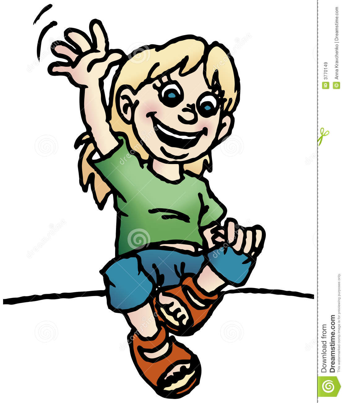 girl waving a hand royalty free stock images image 3770149 boy running clipart black and white boy running clipart