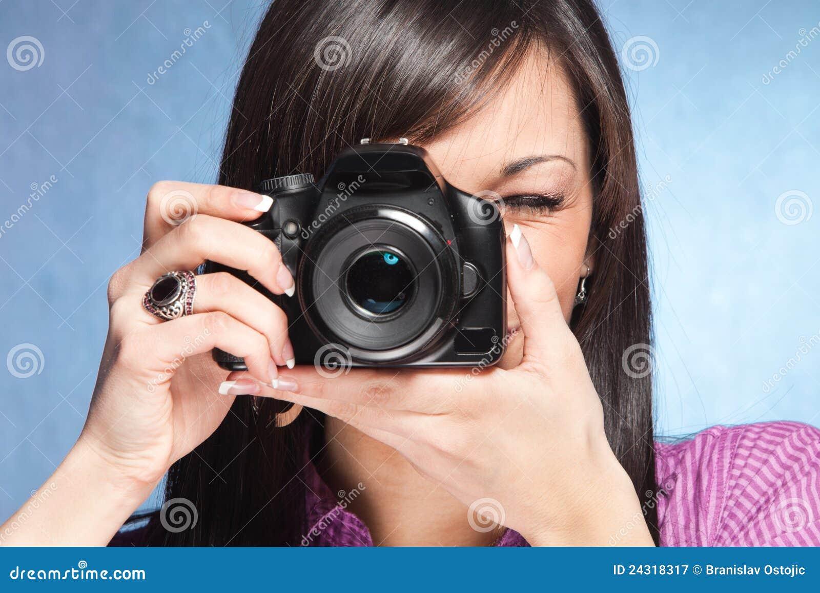 Girls on camera