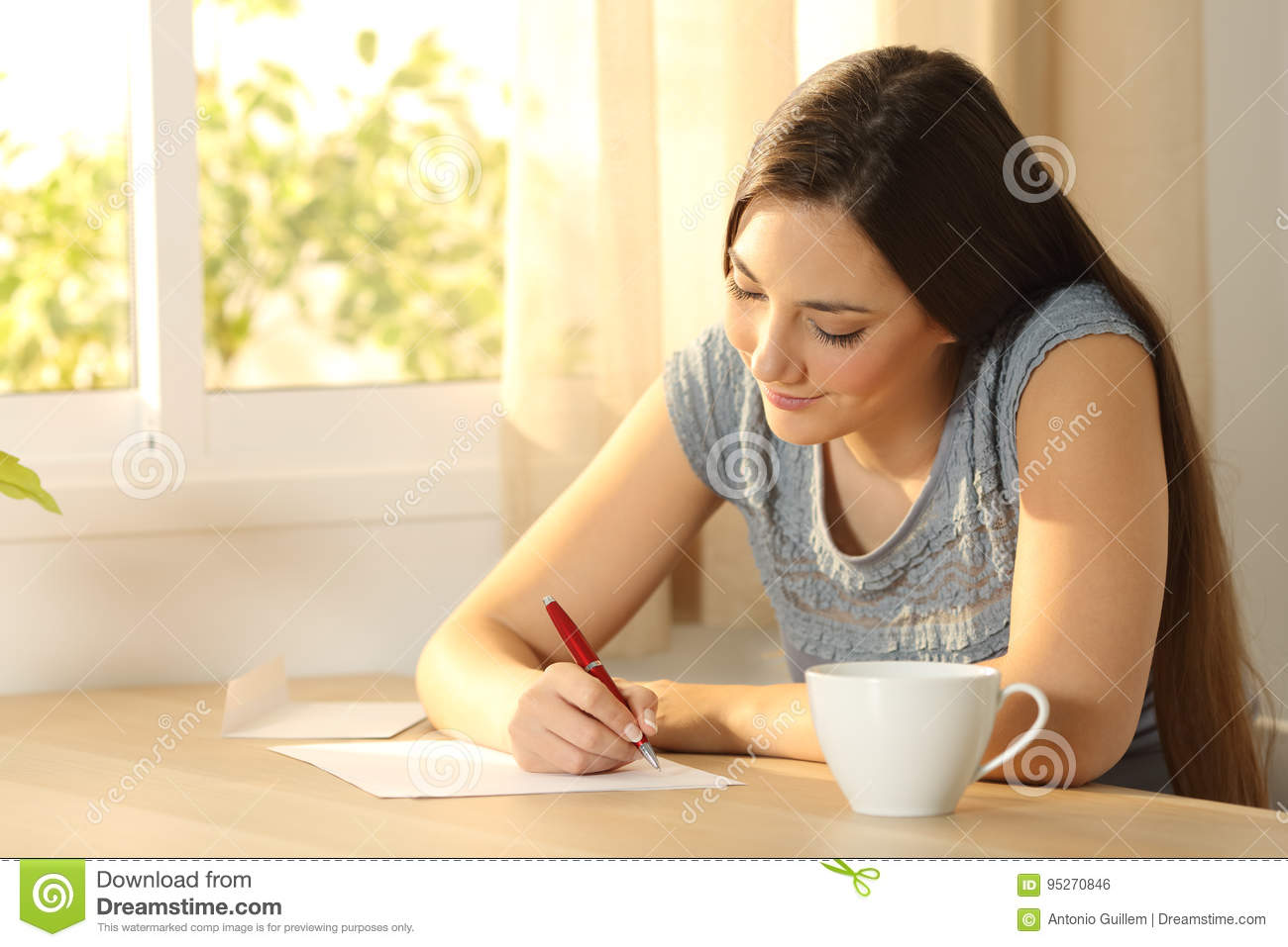 how to write a letter to someone you like