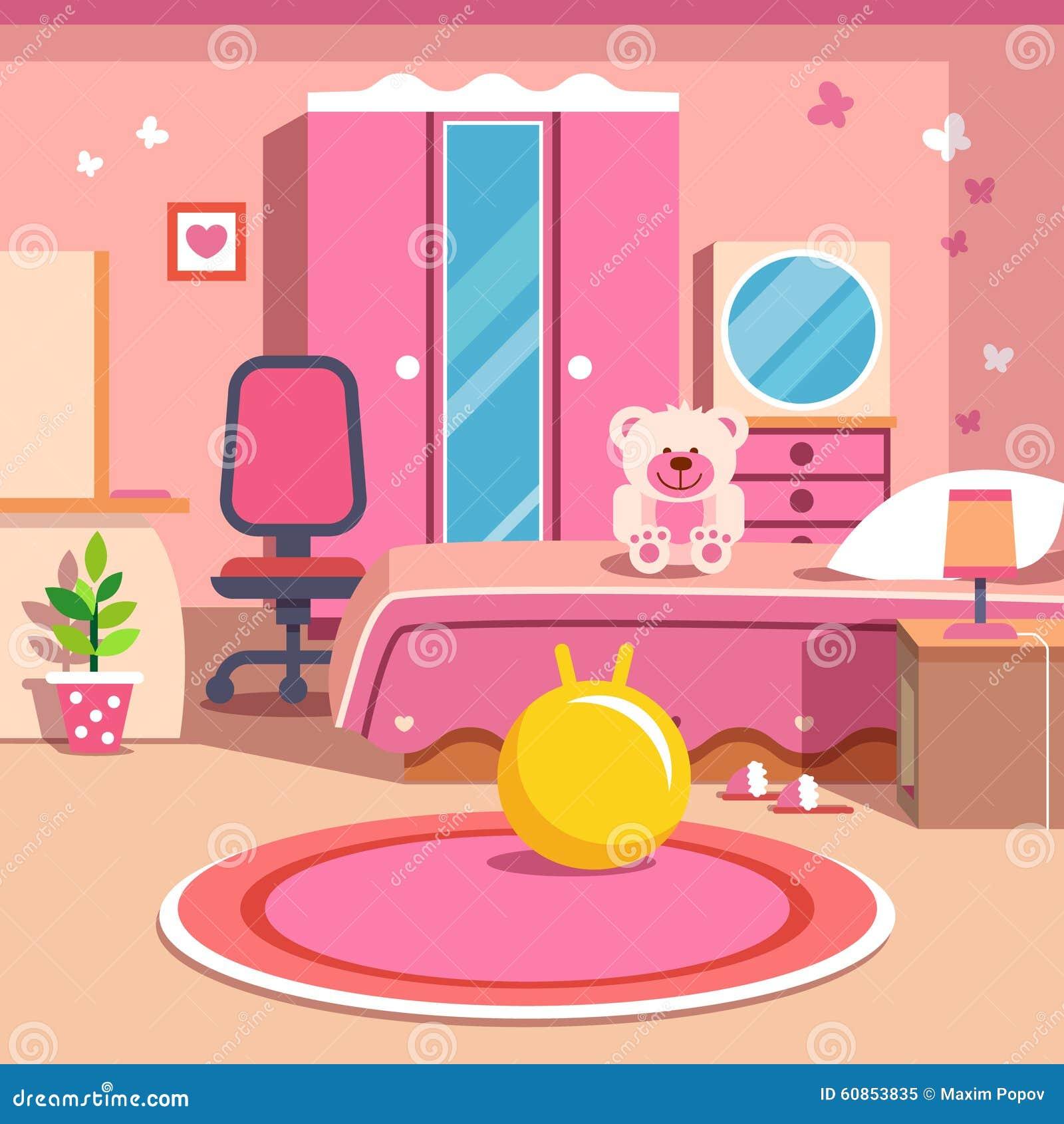Bedroom Design Cartoon