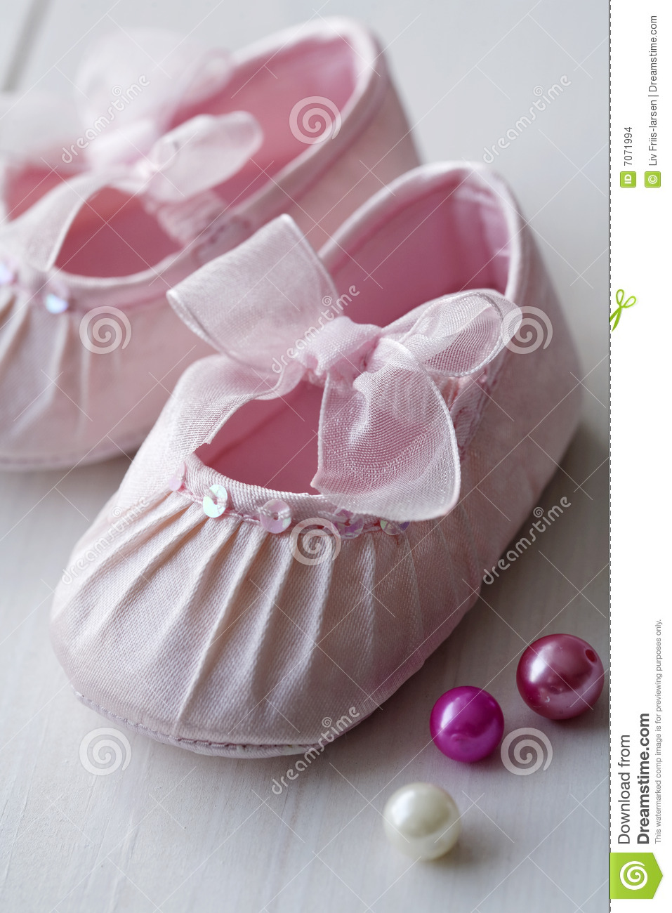 Girls Baby Shoes Stock Images - Image: 7071994