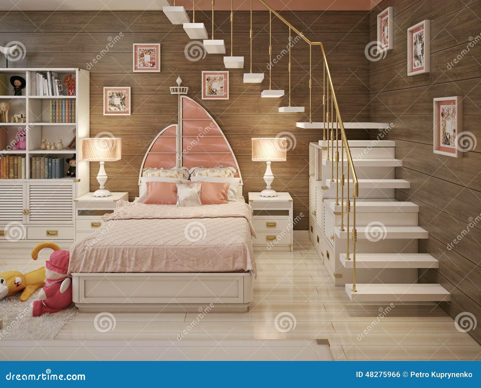 Camere Da Ragazza. Camerette Per Bambini Componibili Colorate E ...