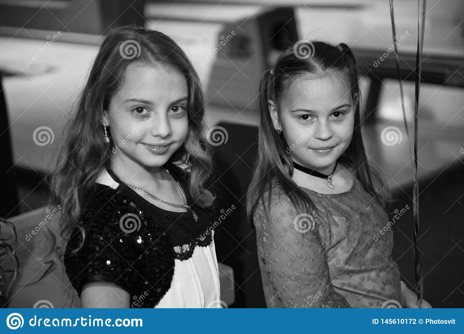 Girls best friends celebrate birthday in bowling club. Ideas how to celebrate birthday for teens. Girls cute smiling