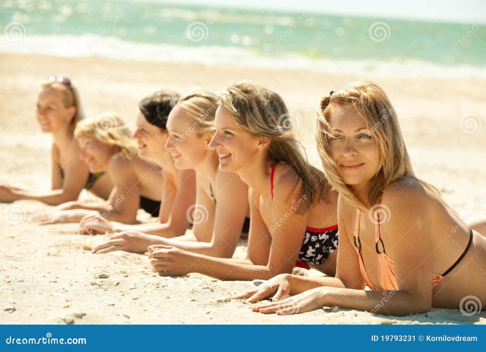 Always beach bikini girls was the