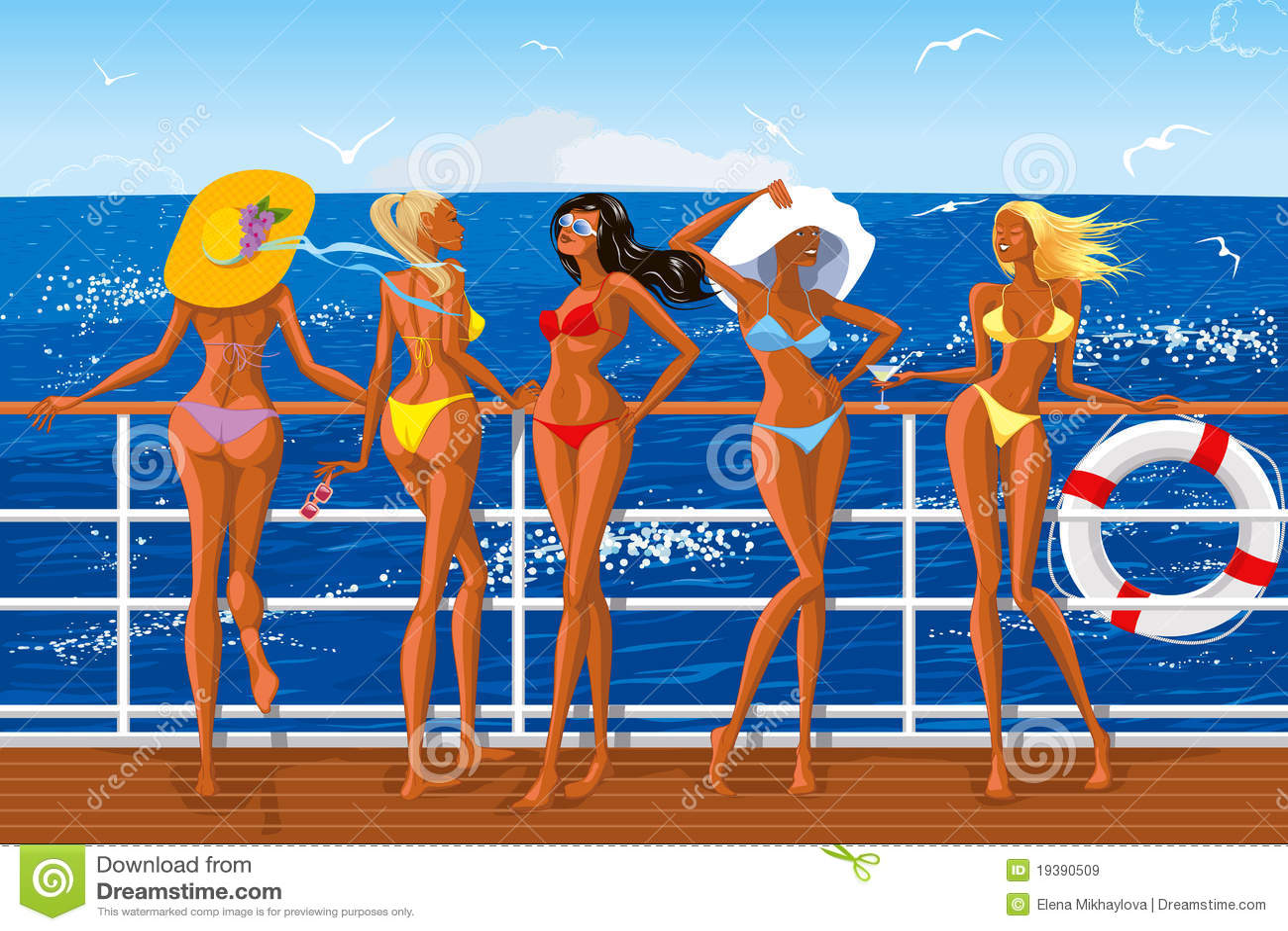 Free clips of bikini girls — img 15