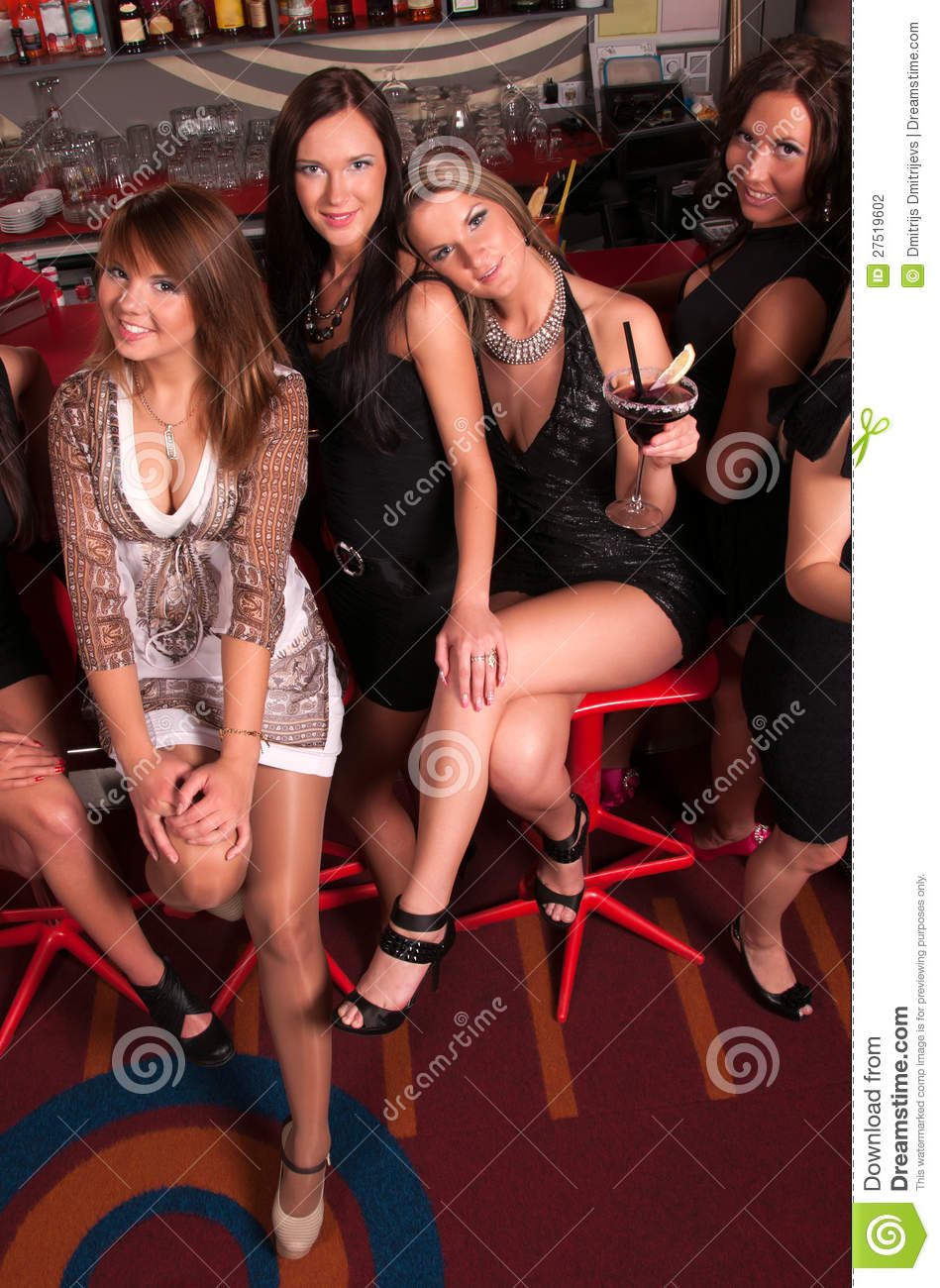 Orgy in the club