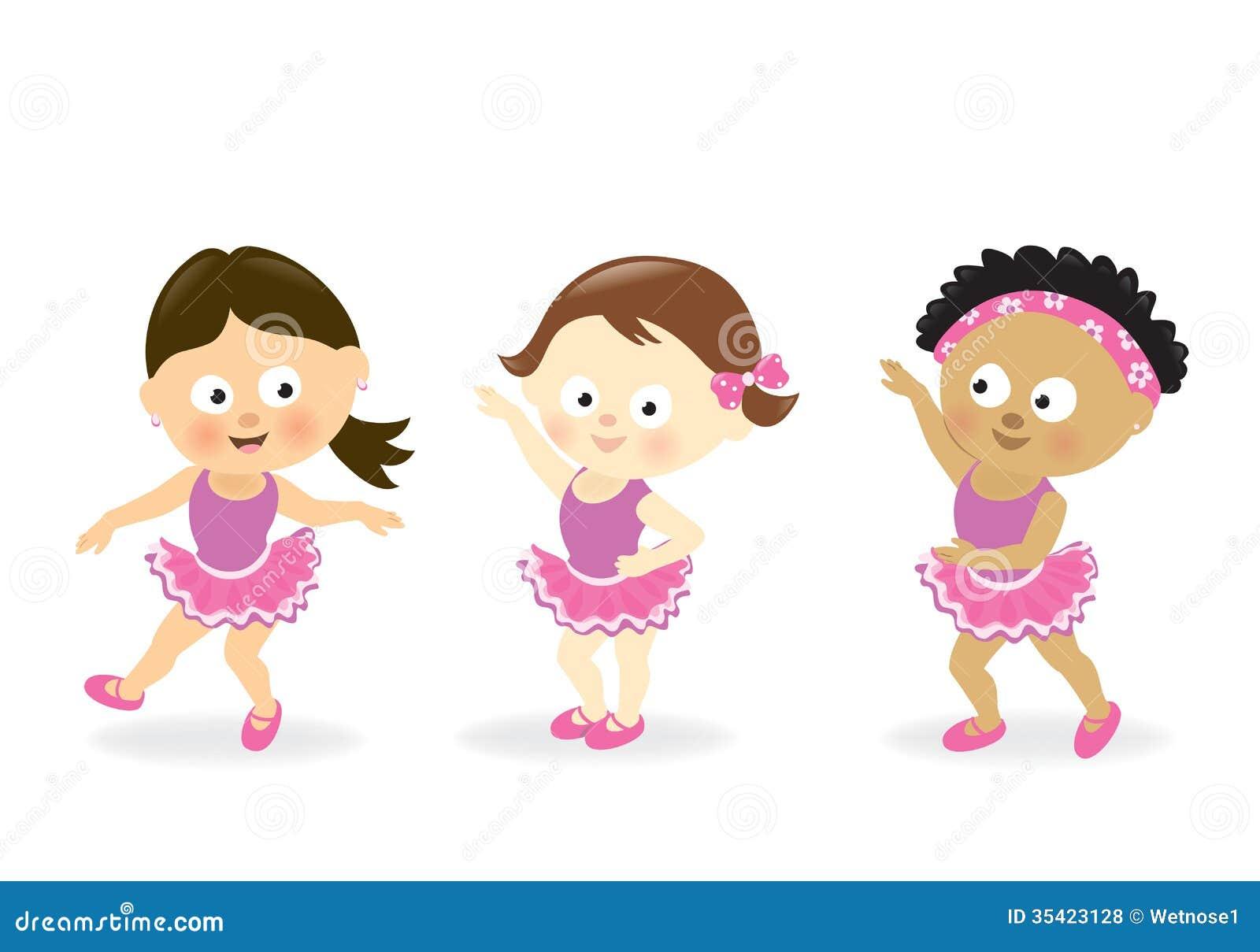 Girls Dancing Royalty Free Stock Photos - Image: 35423128