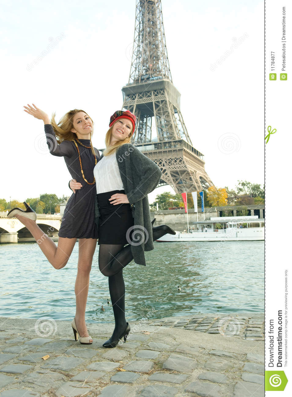 Girls In Paris Royalty Free Stock Photography - Image: 11784877