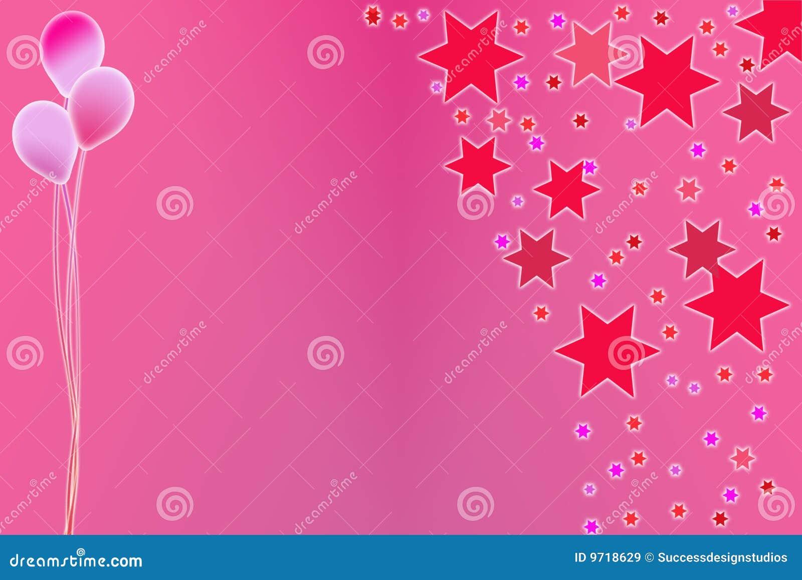 Girls Party Invitation stock illustration. Illustration of ...