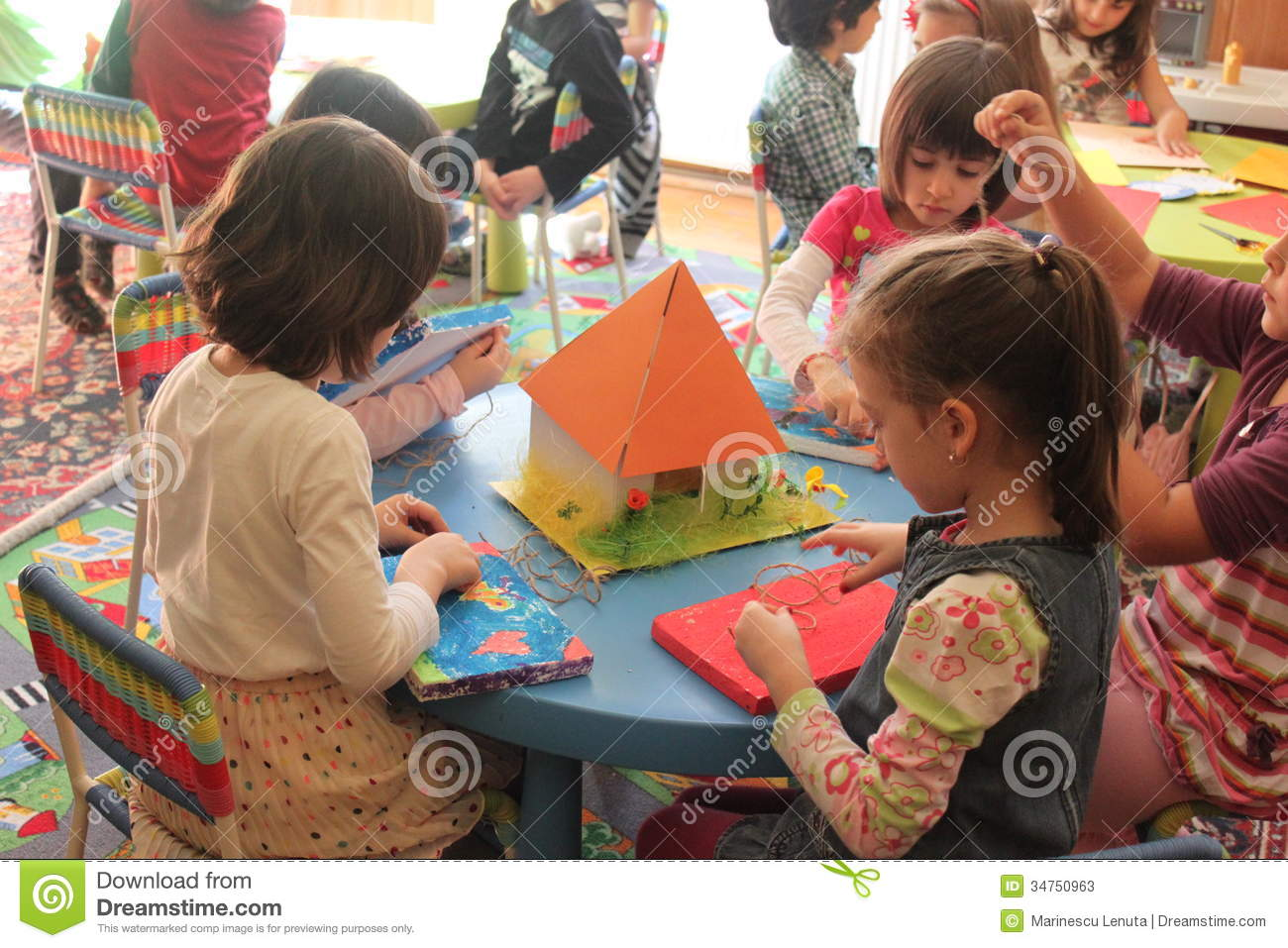 preschool classroom games in kindergarten editorial stock photo 458
