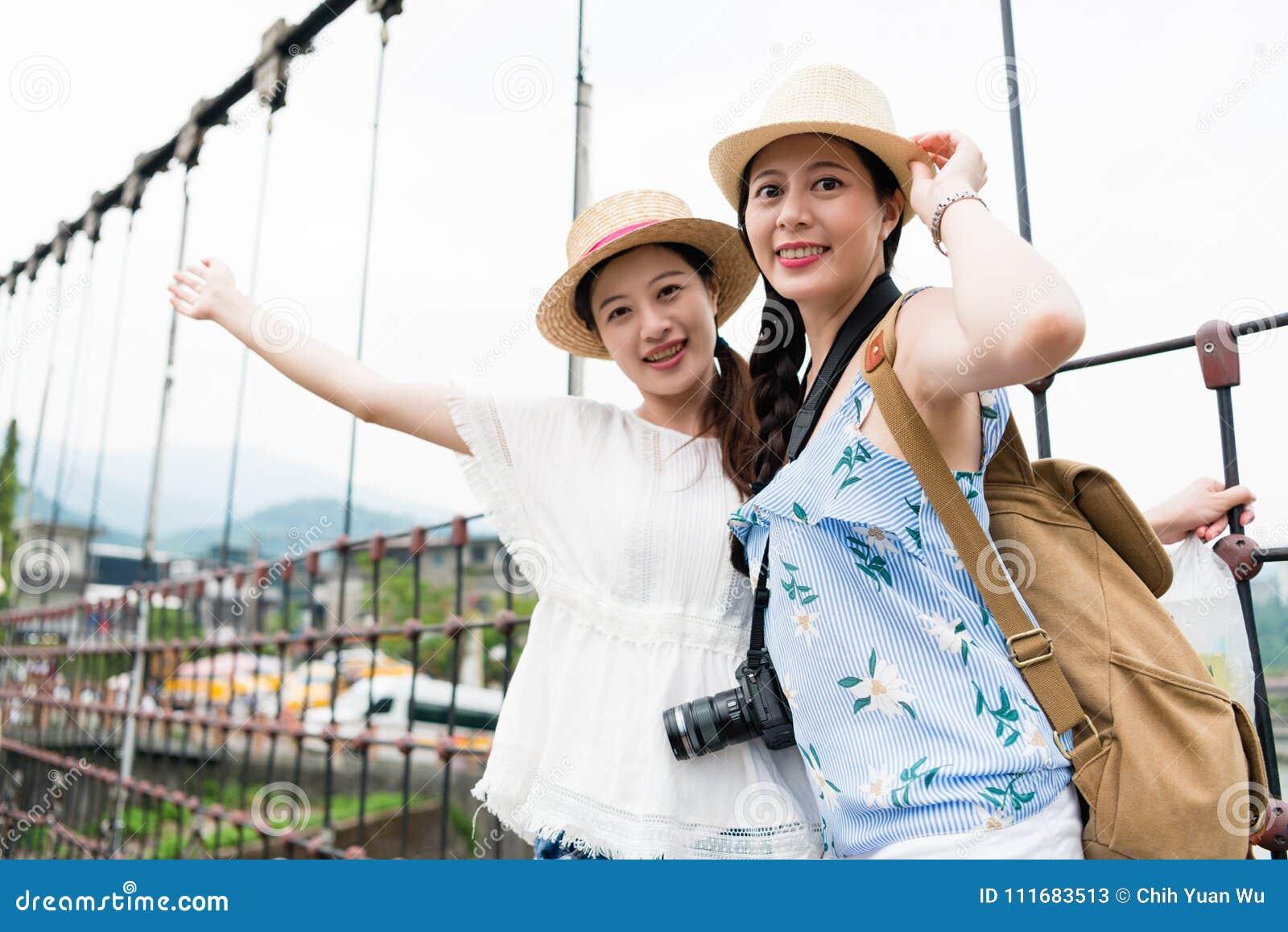 girl posing rope Asian