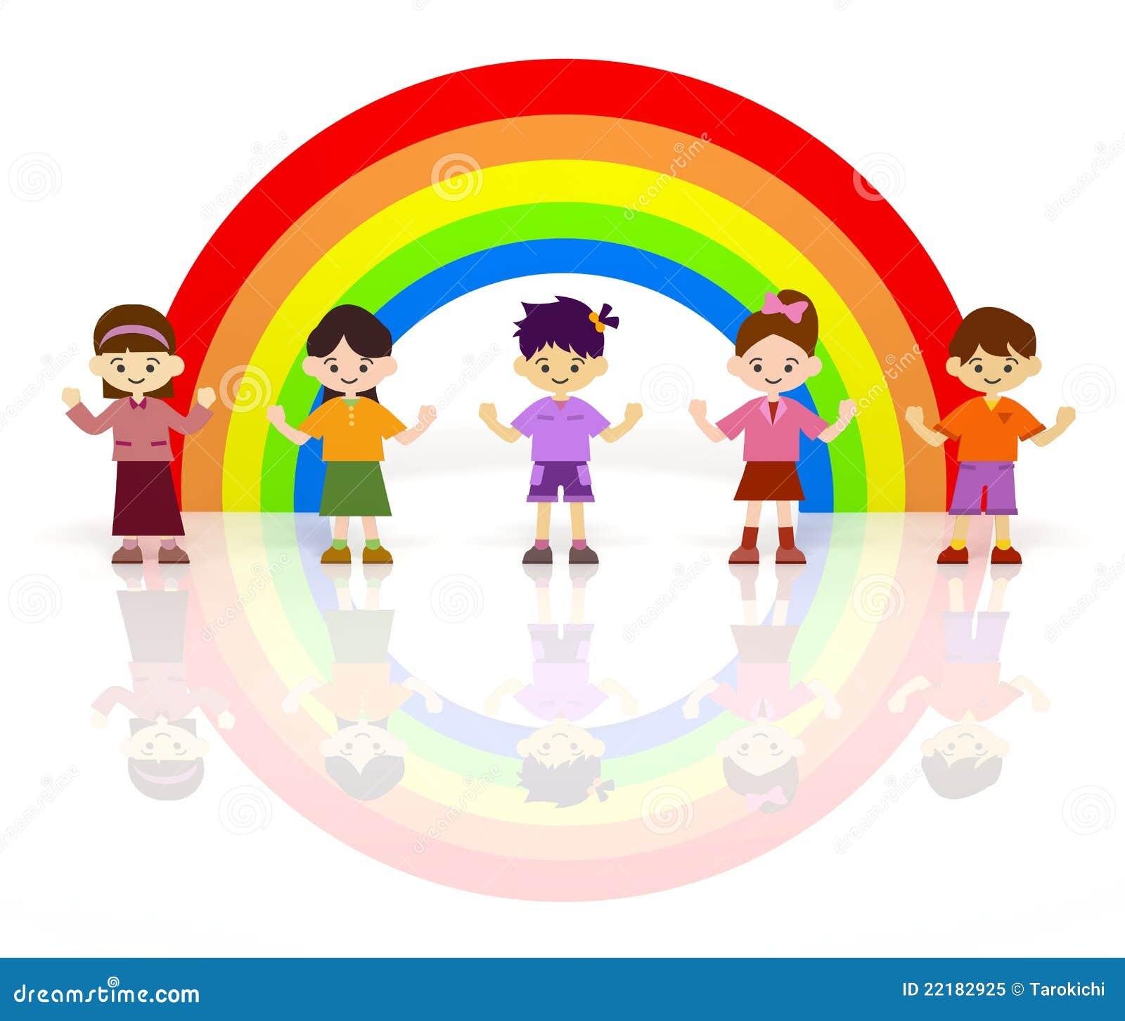Girls Rainbow