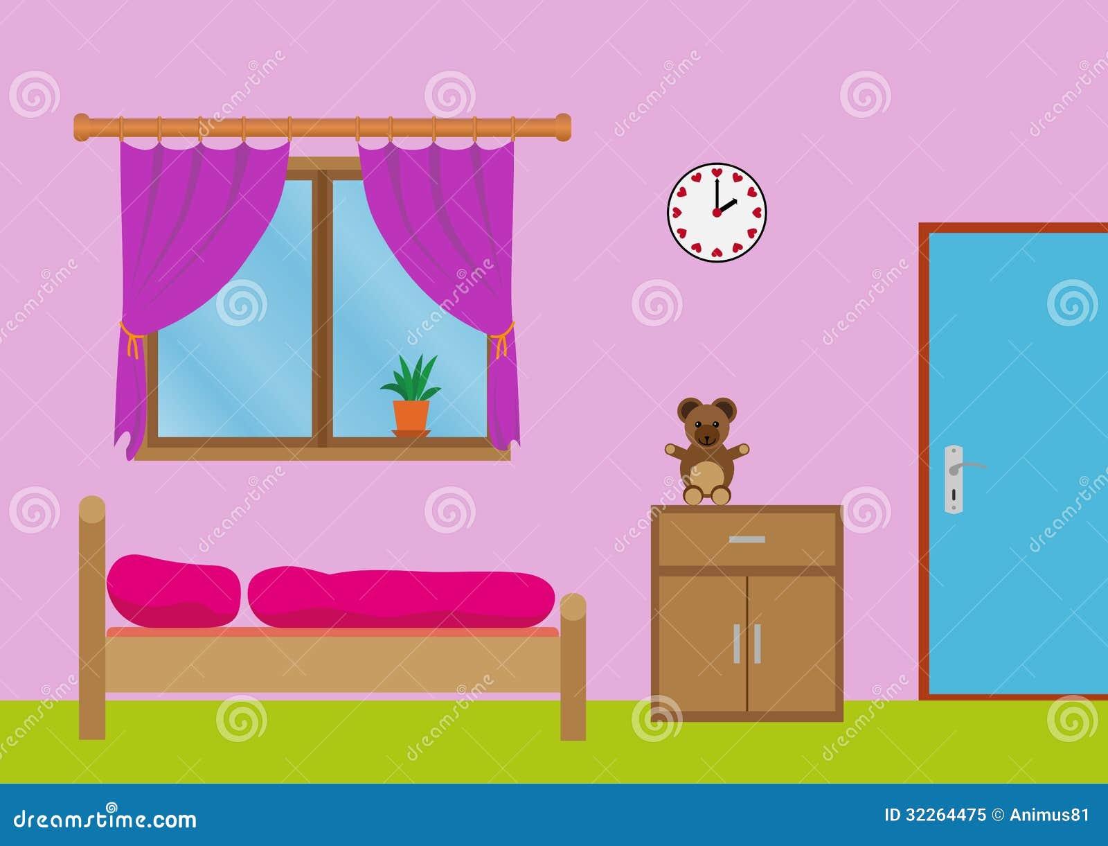 Girls Room Royalty Free Stock Photo - Image: 32264475