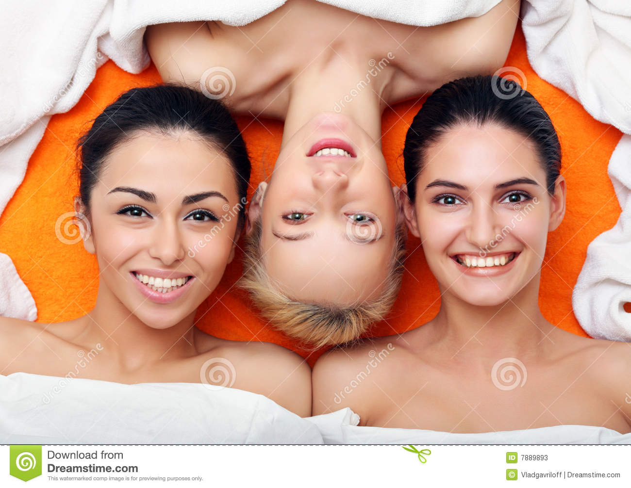 Girls in in SPA center
