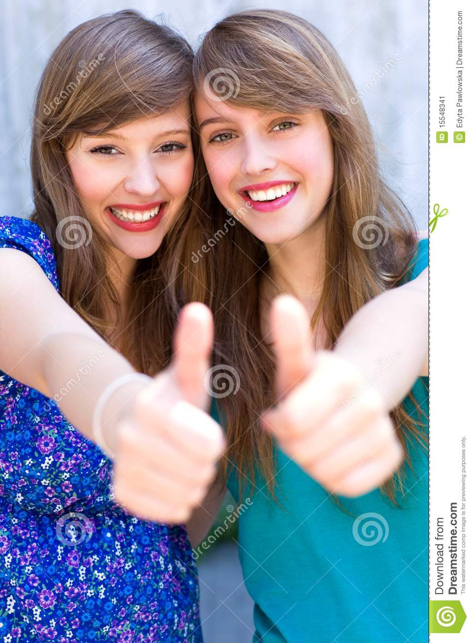 And women on girls thumbs join