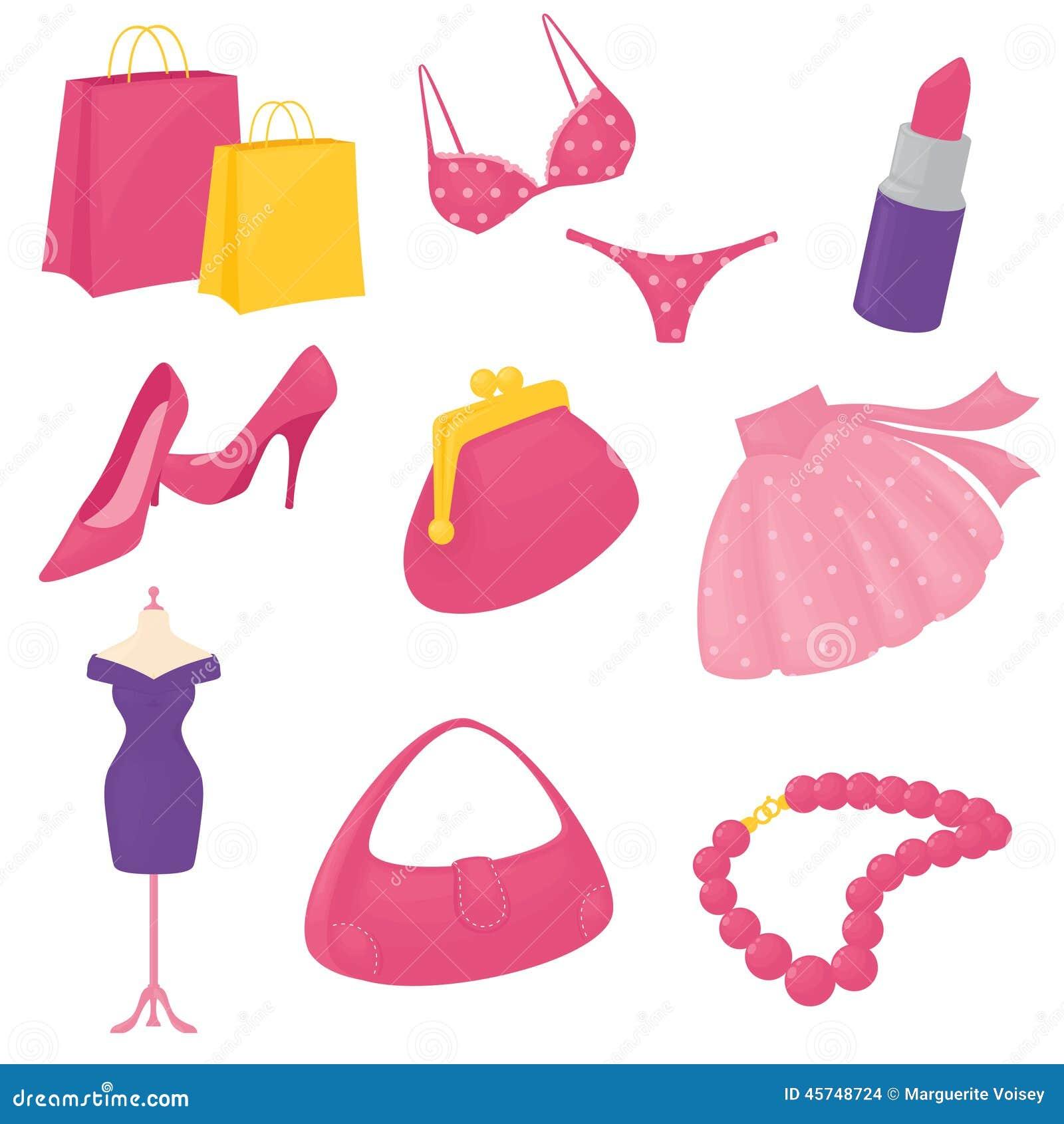 girly icons: