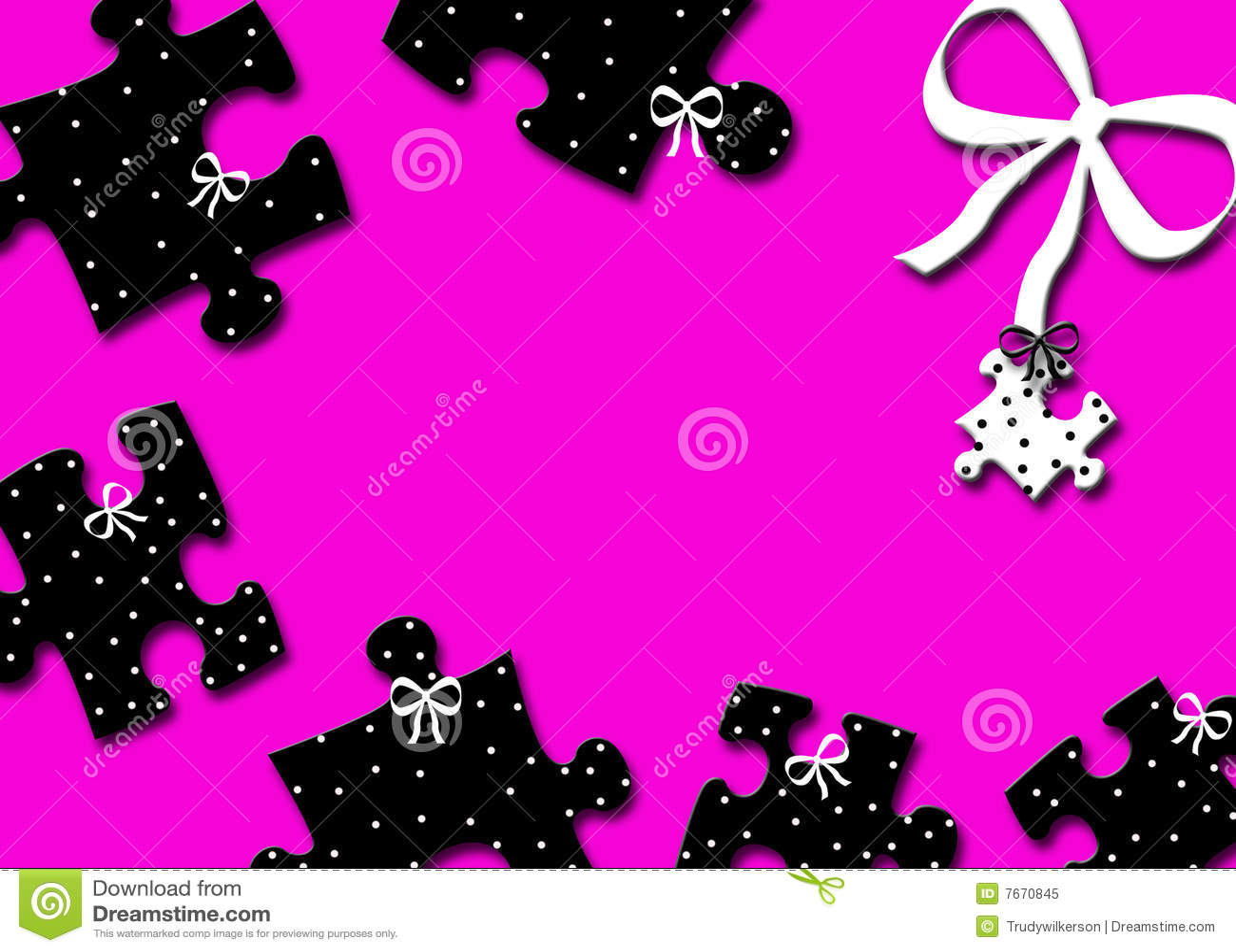 Girly Background Royalty Free Stock Photo