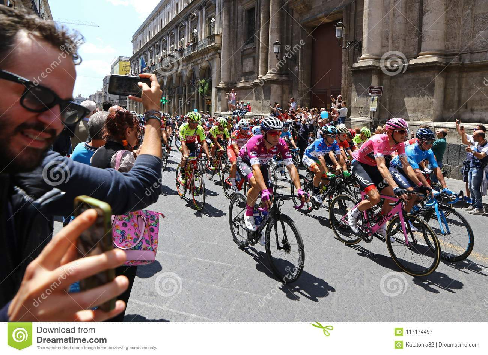 ca55b5b6fef3 Giro D`Italia 2018. 4th Stage In Catania