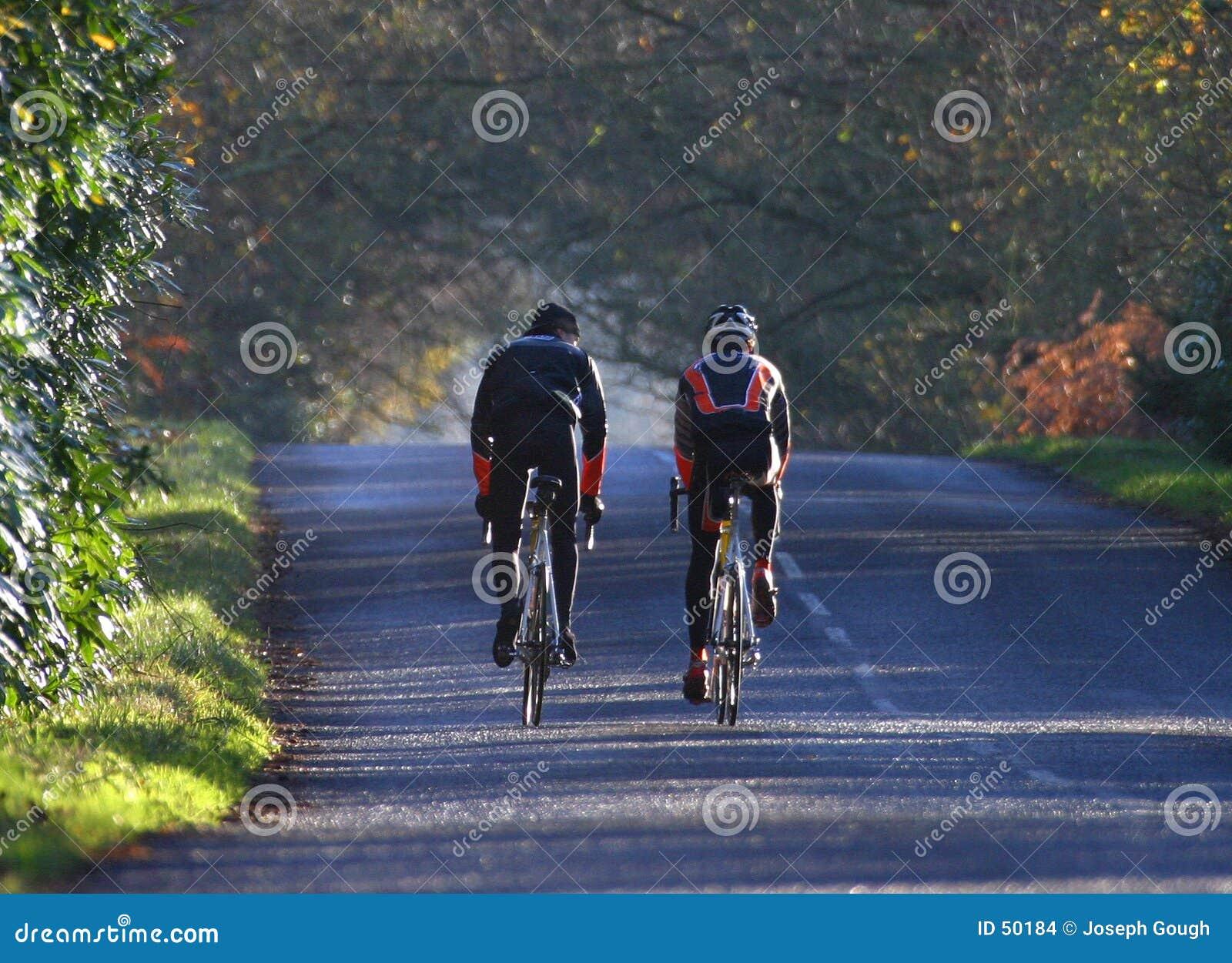 Giro di addestramento del ciclo di sport