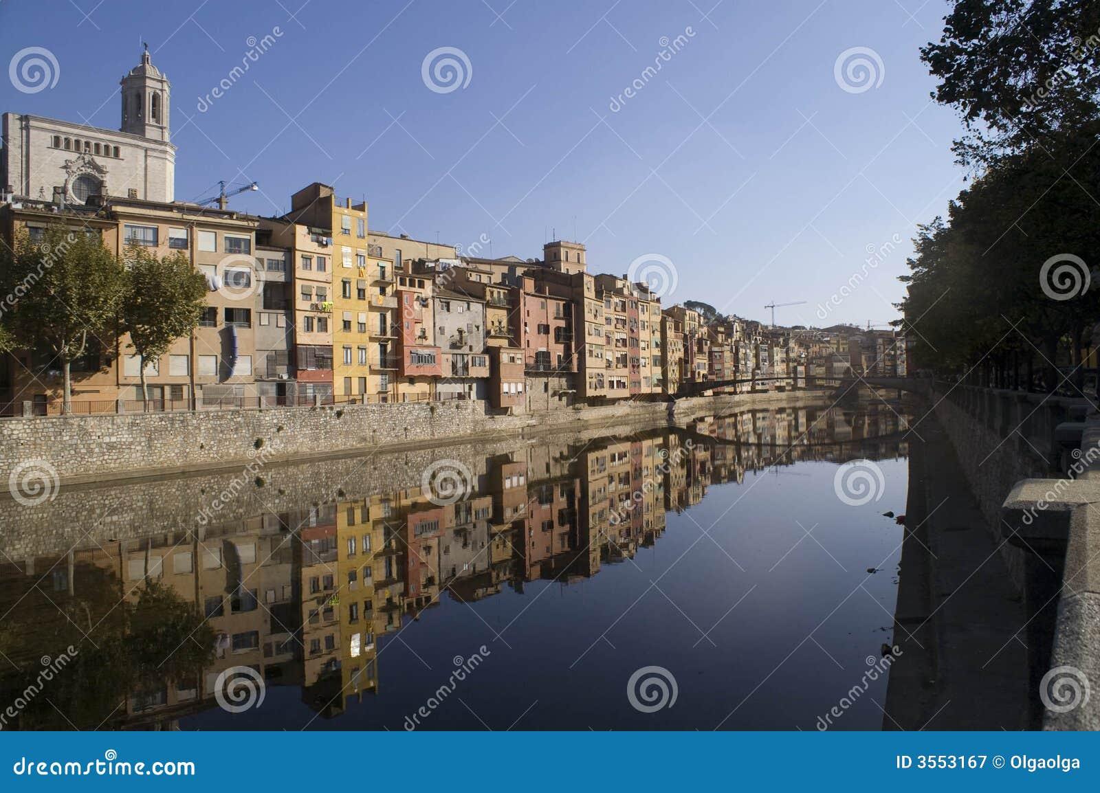 Girona横向
