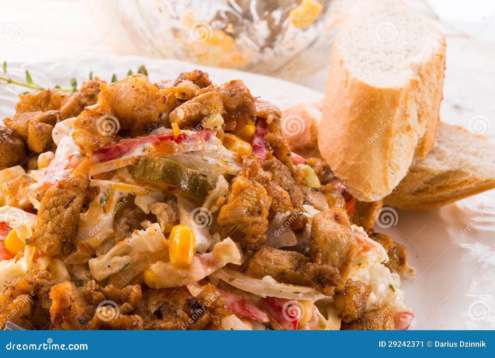Download Giroscópio do pão árabe imagem de stock. Imagem de east - 29242371