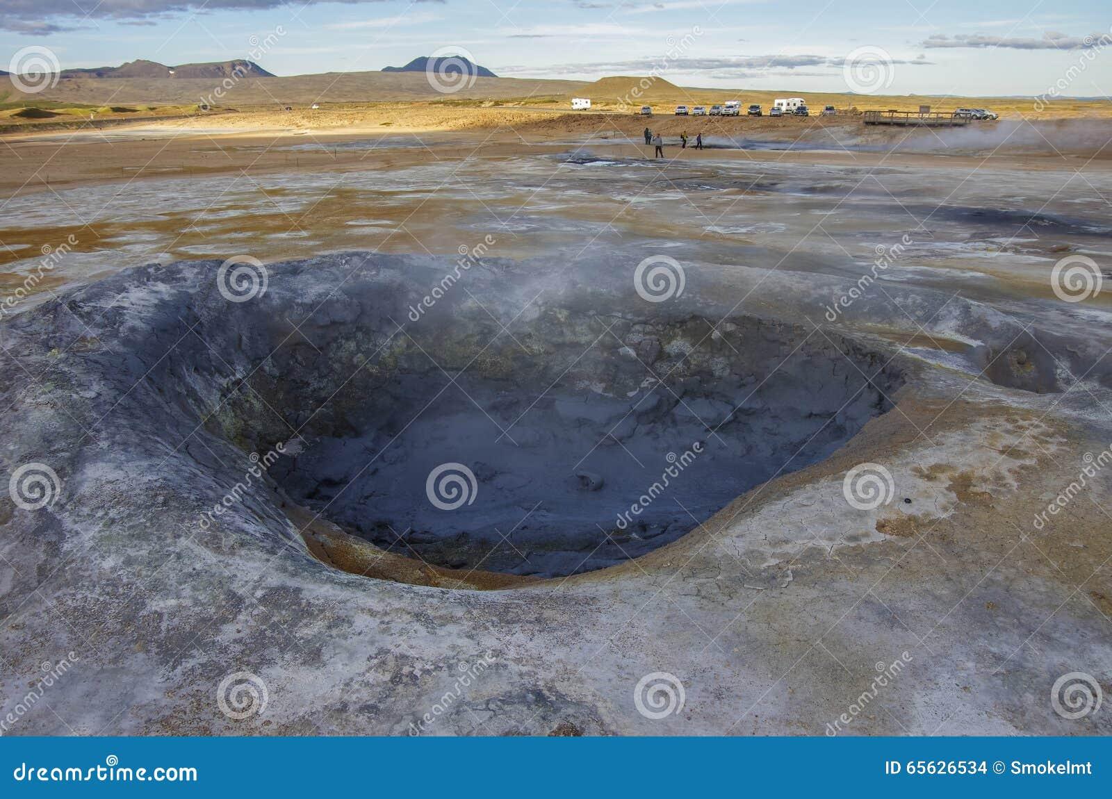 Gisement géothermique de Hverarond en Islande C est un champ dans Krafla