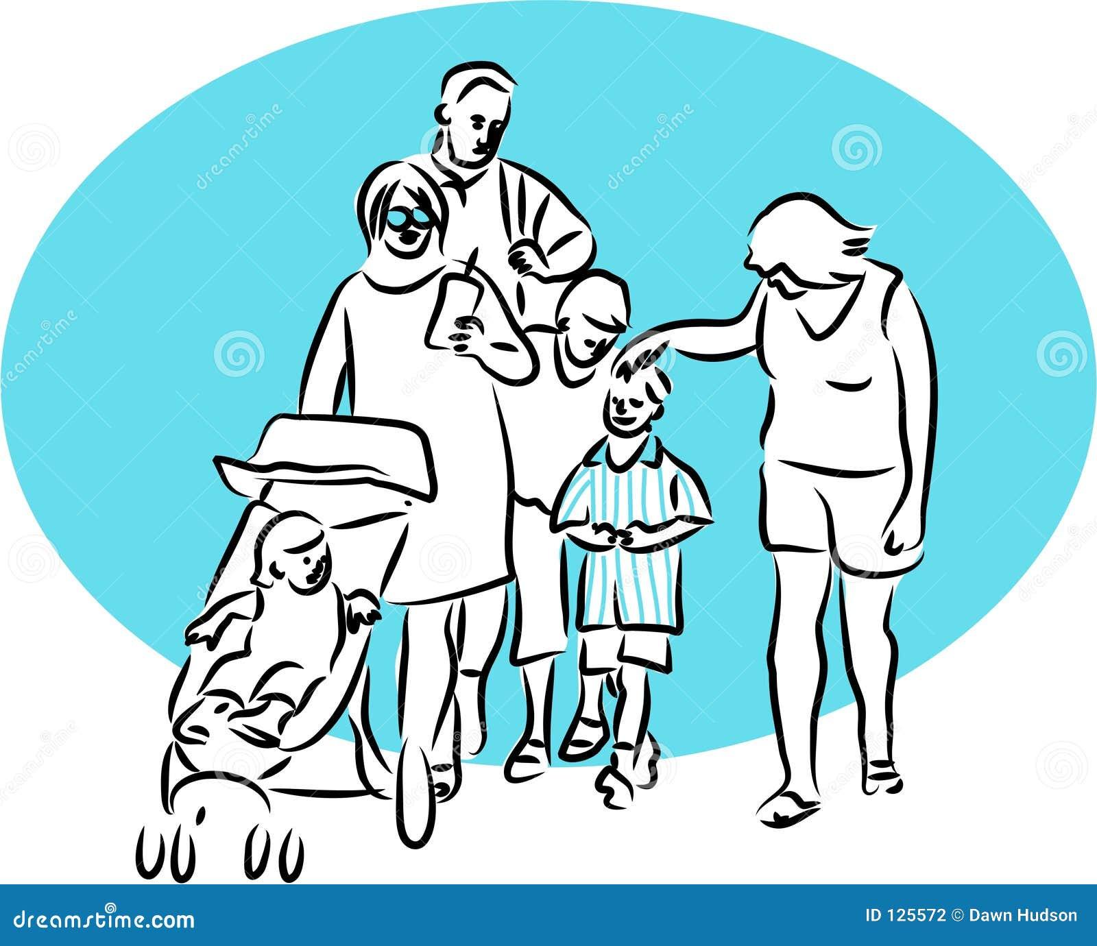 Gita della famiglia
